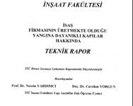 İTÜ TECHNICAL REPORT